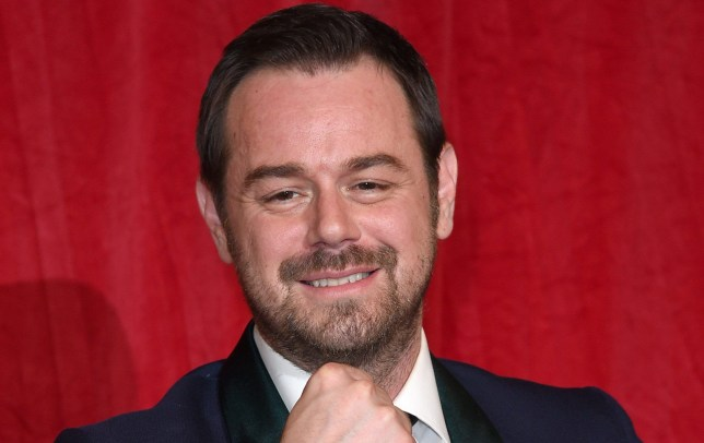 LONDON, ENGLAND - MAY 28: Danny Dyer arrives for the British Soap Awards 2016 at the Hackney Town Hall Assembly Rooms on May 28, 2016 in London, England. (Photo by Karwai Tang/WireImage)