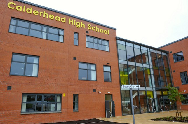 Girl dies after 800m in PE lesson Credit: North Lanarkshire Council