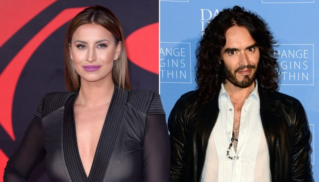 TOWIE's Ferne McCann says Russell Brand is great in bed (Picture: Getty Images)