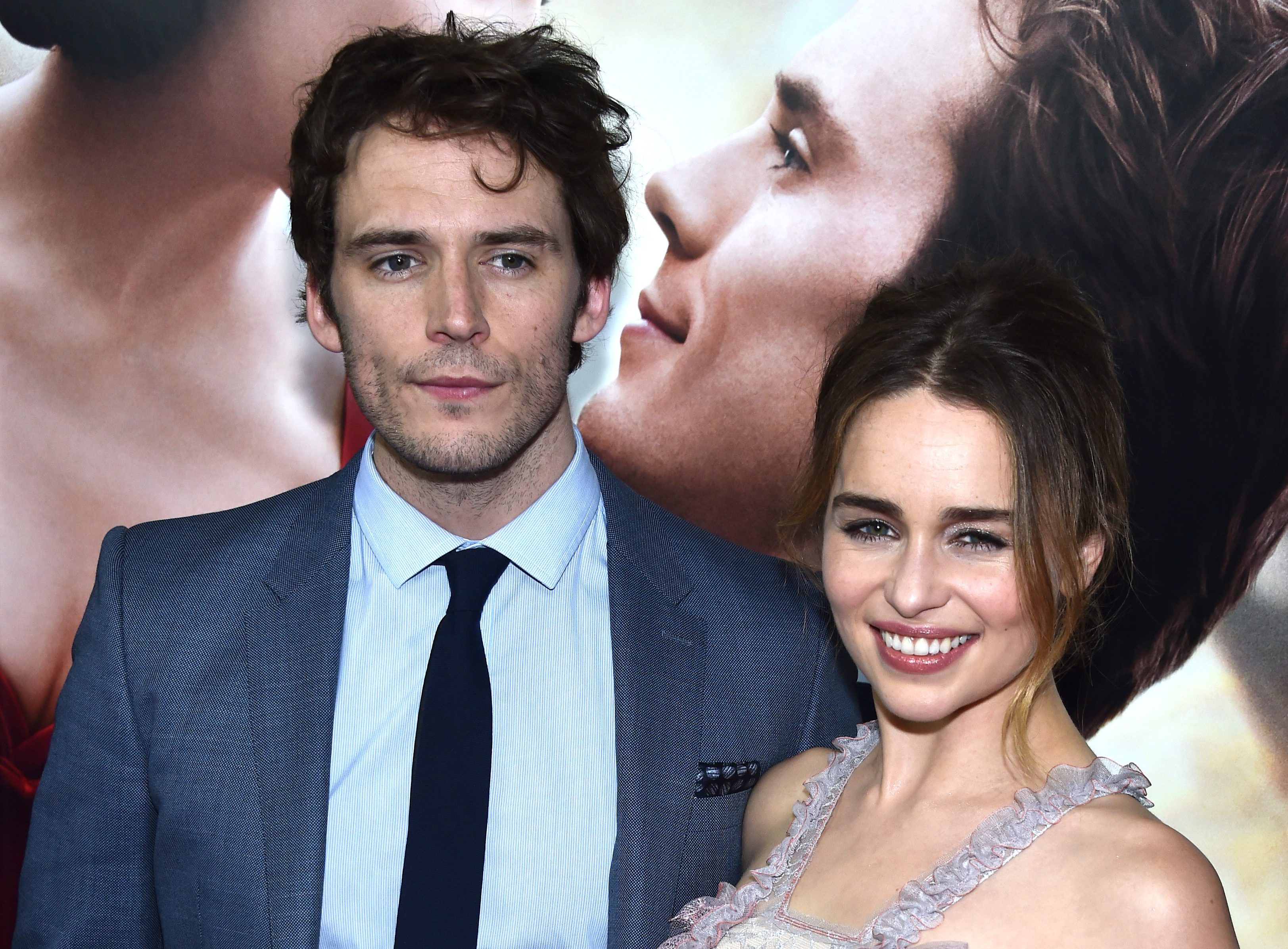 Emilia Clarke and Sam Claflin star in Me Before You (Picture: Getty)