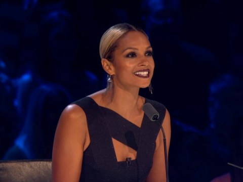 Looks like Alesha Dixon is cheating on Strictly Come Dancing with The X Factor