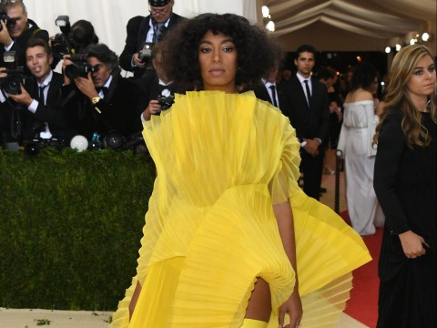 Solange Knowles creates Met Gala Twitter storm after branding mystery celebrity 'rude and annoying'