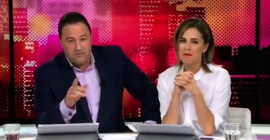 Story hosts apologise after naked waitress flashes on live