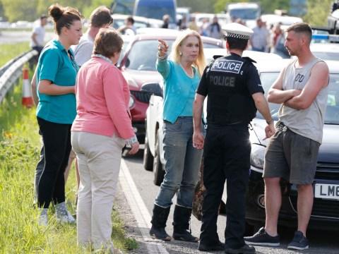 I'm A Celeb's Lady Colin Campbell escapes horrific multi-car collision