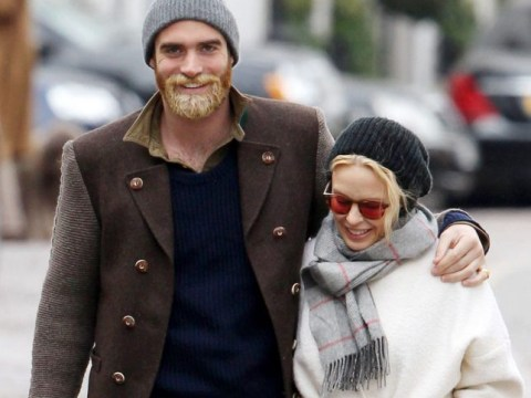 Something to tell us Joshua? Kylie's toyboy fiance has undergone a hair transplant