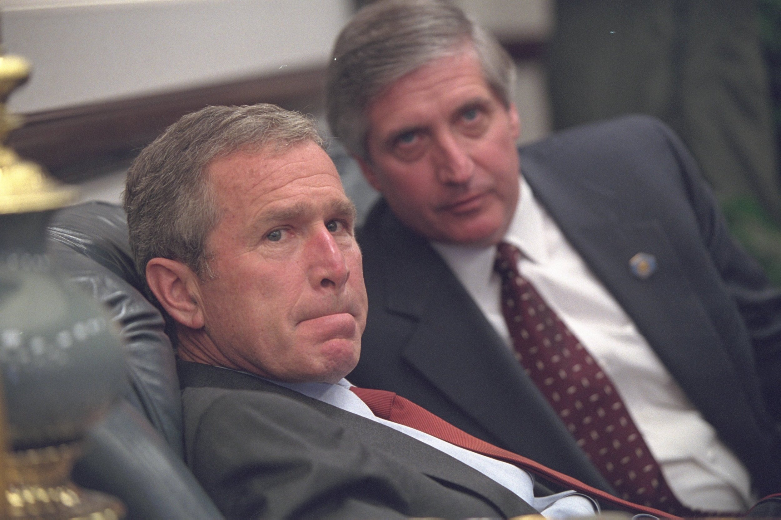 Darkest moments of George W Bush's presidency retold in newly released 9/11 pictures