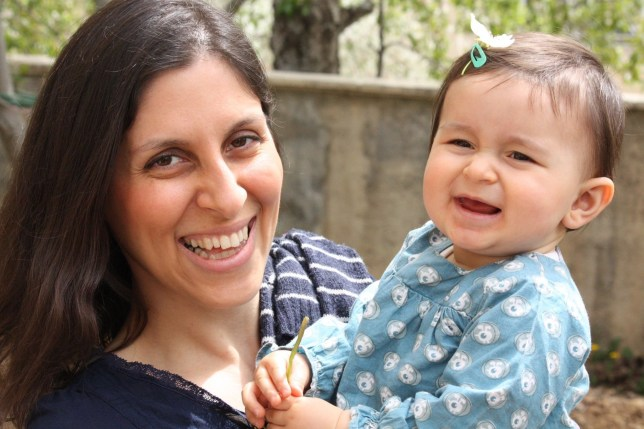 BEST QUALITY AVAILABLE Undated family handout photo of Nazanin Zaghari-Ratcliffe with her daughter Gabriella, as Richard Ratcliffe has begged the Government to intervene and help free his charity worker wife after she was taken captive in Iran and separated from her infant daughter. PRESS ASSOCIATION Photo. Issue date: Monday May 9, 2016. Nazanin, who has dual British-Iranian nationality, was detained by the Iranian Revolutionary Guard on April 3 at an airport as she tried to return to the UK after visiting her family in Iran. See PA story POLITICS Iran. Photo credit should read: Family Handout/PA Wire NOTE TO EDITORS: This handout photo may only be used in for editorial reporting purposes for the contemporaneous illustration of events, things or the people in the image or facts mentioned in the caption. Reuse of the picture may require further permission from the copyright holder.