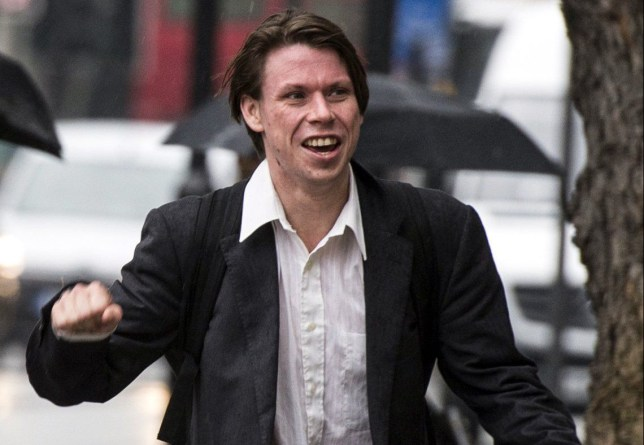 Lauri Love arrives at Westminster Magistrates Court in London where a District Judge will give a ruling on whether the alleged hacker must hand over the password to his encrypted computers. PRESS ASSOCIATION Photo. Picture date: Tuesday May 10, 2016. Love, 31, is fighting attempts to extradite him to America to face criminal charges for breaking into Federal Reserve computers. See PA story COURTS Love. Photo credit should read: Lauren Hurley/PA Wire