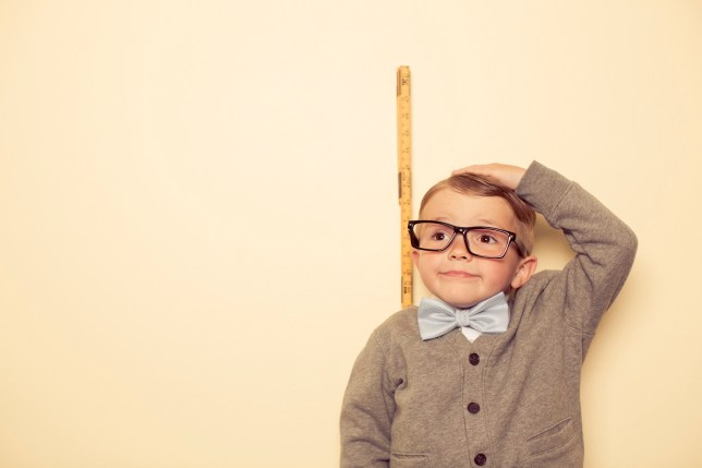 Formula predicts how tall your kids will be Credit: Getty