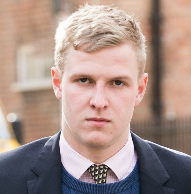 FILE PICTURE - Thady Duff. Four students accused of raping a woman at a summer ball at Britain's most elite agricultural college walked free from court yesterday as the case was dropped. See SWNS story SWRAPE. Leo Mahon, Patrick Foster, James Martin and Thady Duff, who attend the world-famous Royal Agricultural College, had all denied rape, sexual assault and assault by penetration. All charges against Mahon, Foster and Martin were dropped but Duff, of Swindon, Wilts., still faces one charge of possession of extreme pornography.