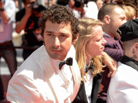 There's something different about Shia LaBeouf at Cannes Film Festival
