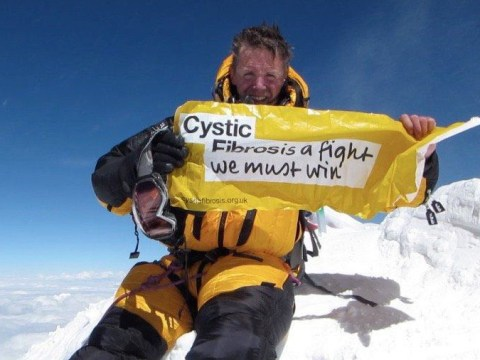 British man, who almost died twice, becomes first person with cystic fibrosis to conquer Mount Everest