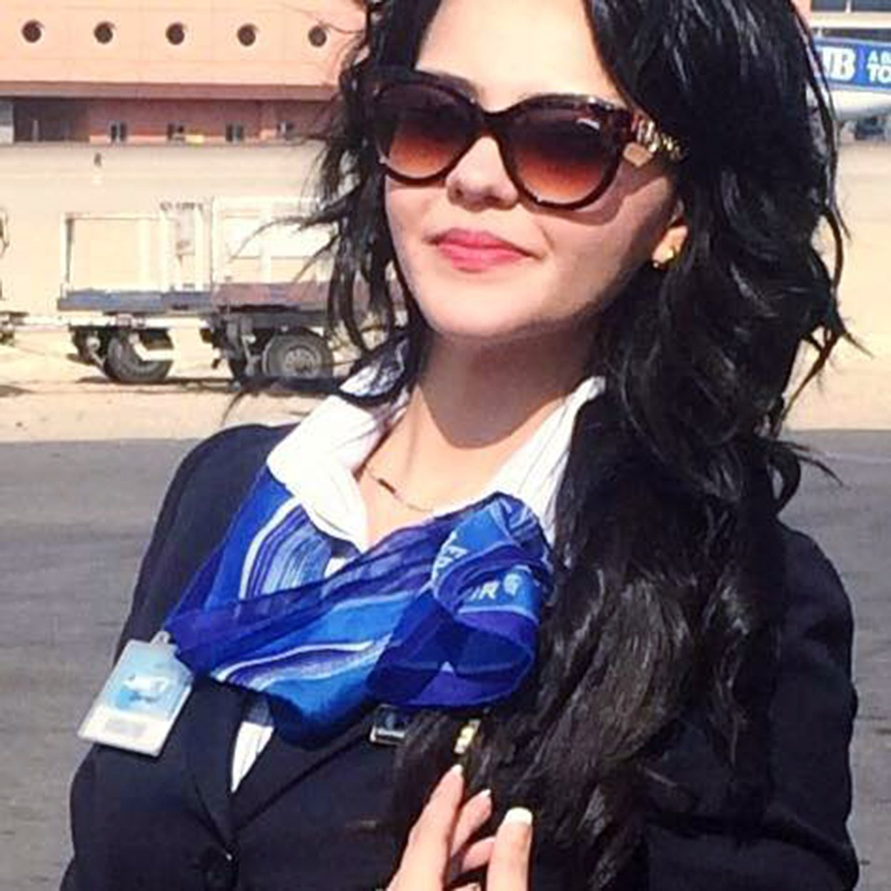 EgyptAir flight attendant posted pic of plane crashing
