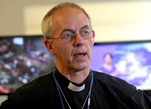 Mandatory Credit: Photo by Kippa Limited/REX/Shutterstock (2745434d) The Archbishop of Canterbury, Justin Welby The Archbishop of Canterbury, Justin Welby, Britain - 25 May 2013