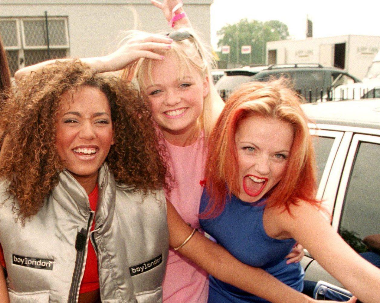 Mandatory Credit: Photo by REX/Shutterstock (261392h) The Spice Girls - Mel C, Victoria Adams, Mel B, Emma Bunton and Geri Halliwell BRIAN HARVEY OF EAST 17 - 1996