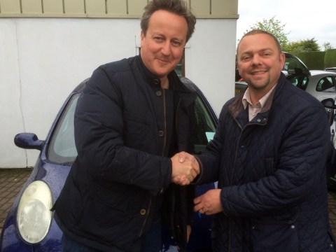 David Cameron bought a used Nissan Micra for Samantha Cameron