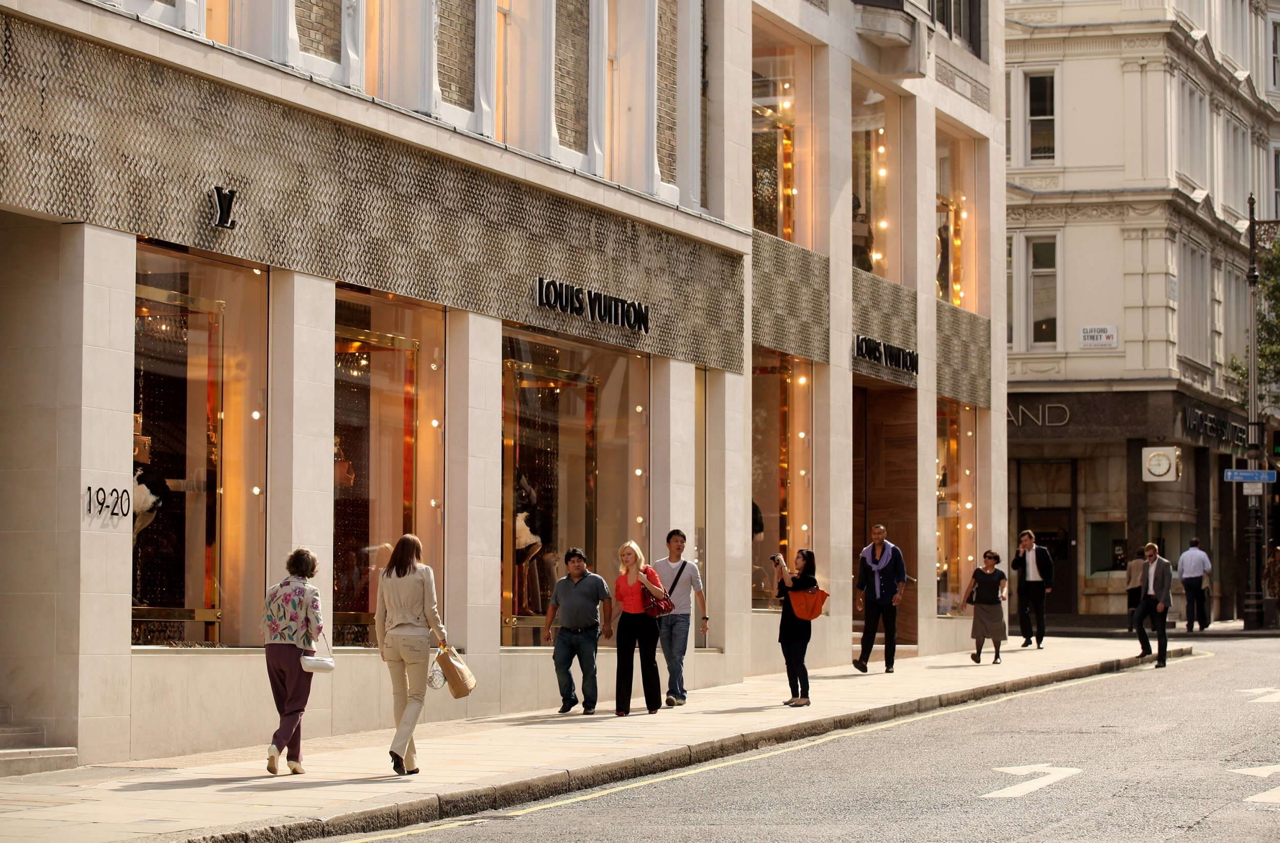 Mayfair '£1000 shop' is gross parody of poverty Credit: Getty