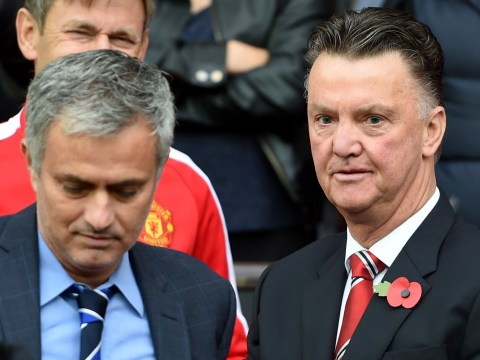 Louis van Gaal believes new Manchester United boss Jose Mourinho stabbed him in the back