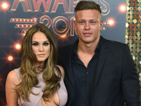 Vicky Pattison hits the British Soap Awards with an old flame and a new hairdo