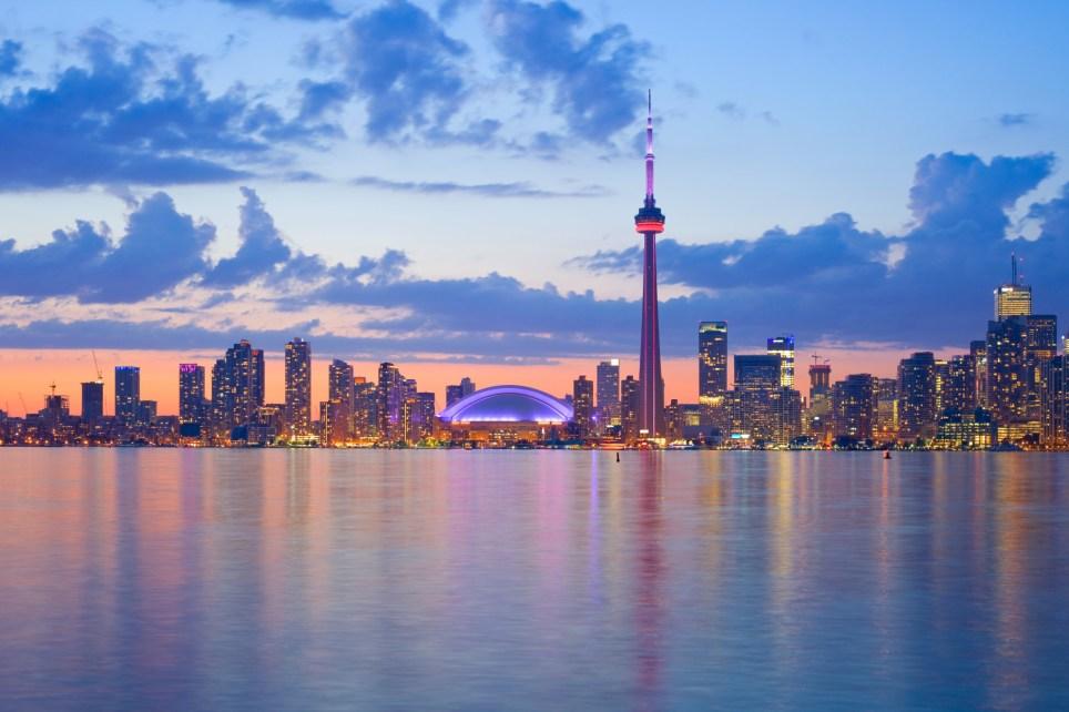 Toronto travel featureThe skyline of Toronto on a beautiful evening.