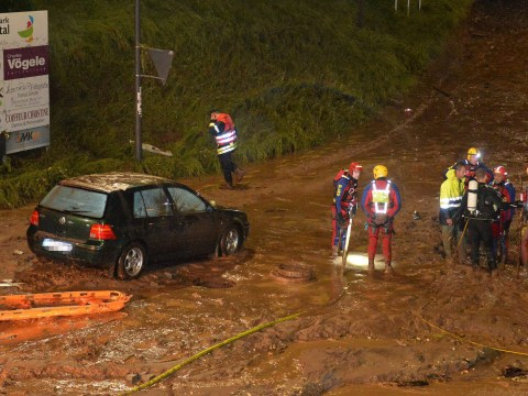 Four dead – including schoolgirl – after floods hit southern Germany