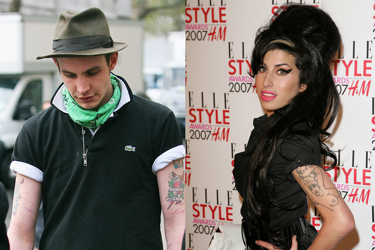Amy Winehouse's ex on run from police for nicking a purse