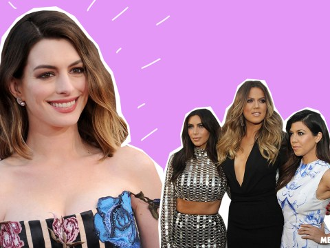Anne Hathaway accidentally throws major shade at the Kardashians – before quickly taking it back