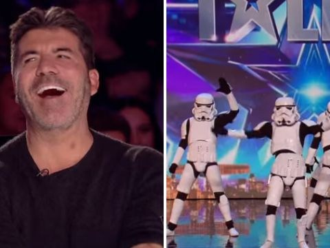 Britain's Got Talent viewers weren't happy with Simon Cowell's golden buzzer act
