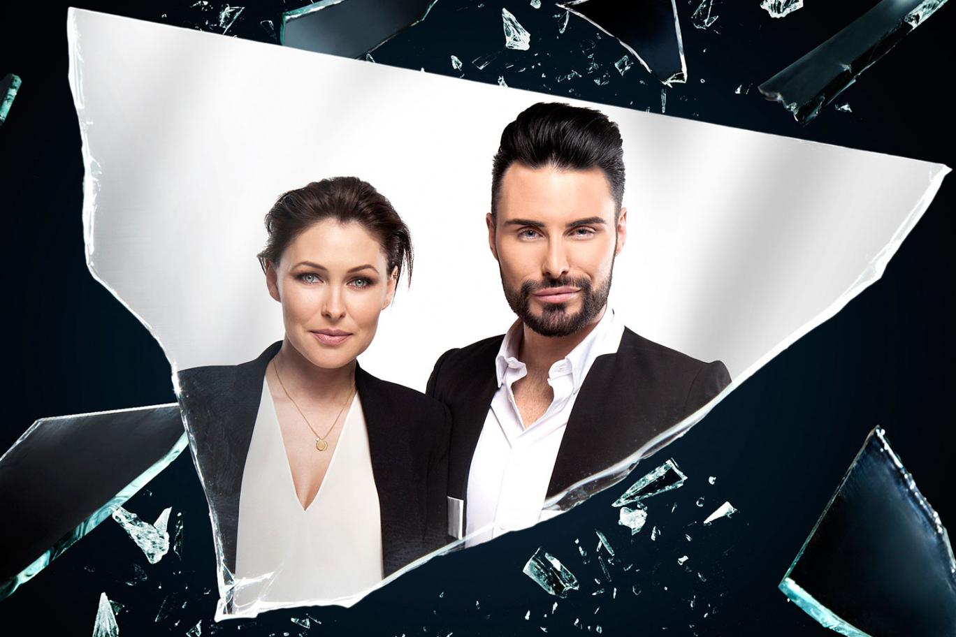The new Celebrity Big Brother eye has been revealed and promises an 'explosive' new series