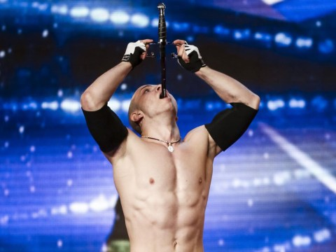 Britain's Got Talent sword swallower act is so dangerous it's being pre-recorded