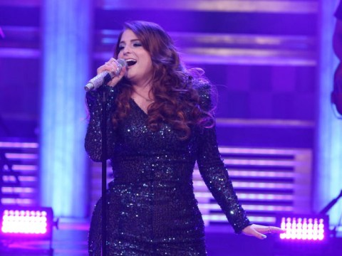 Meghan Trainor endures painfully embarrassing tumble on Jimmy Fallon