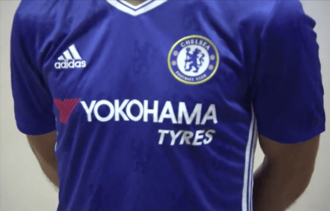 lowest price 900e6 f9d1d Chelsea reveal new kit for 2016/17 with Eden Hazard and ...