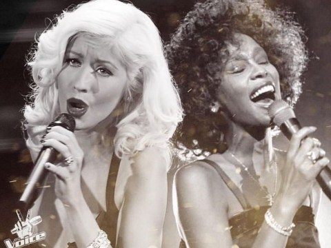 Christina Aguilera to duet with a Whitney Houston hologram for spectacular performance on The Voice