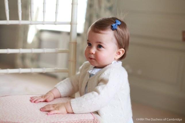 Princess Charlotte Picture: HRH the Duchess of Cambridge Source: Twitter/@KensingtonRoyal
