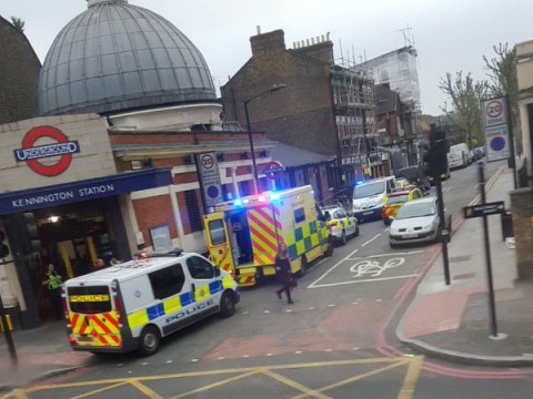 Travel chaos in London following incident at Kennington station