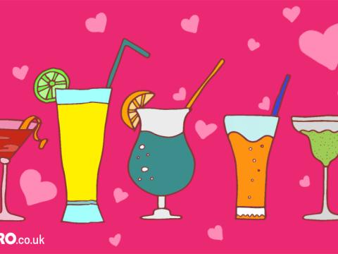 Valentine's Day cocktail inspiration
