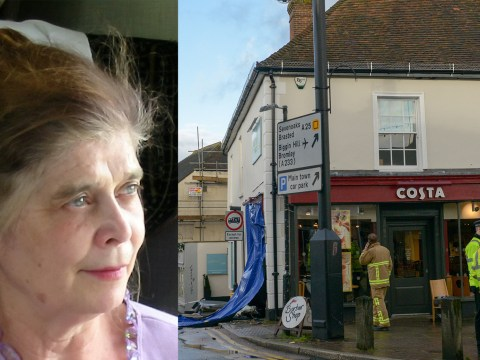 Driver, 86, charged over death of woman when car crashed into Costa Coffee on Christmas Eve
