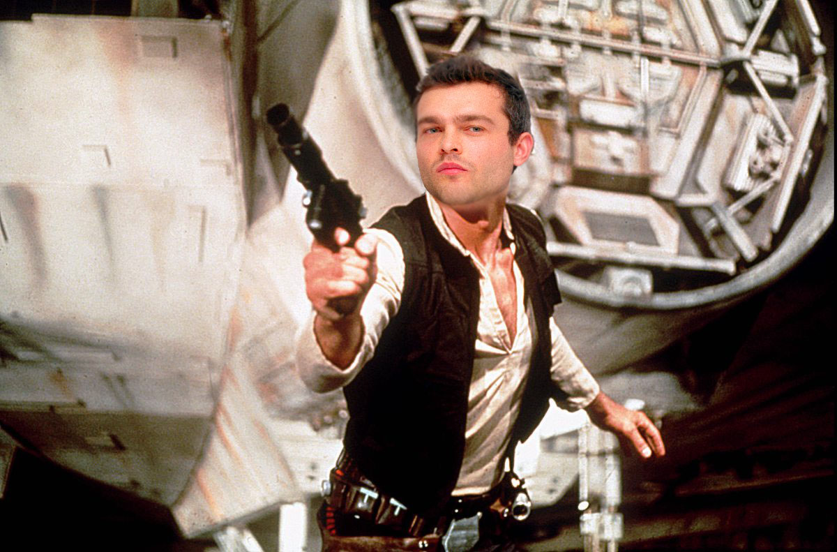A young Han Solo has been cast and Star Wars fans can't decide if they are thrilled or furious Alden Ehrenreich as Han Solo Credit: Lucas Film/Getty/Metro