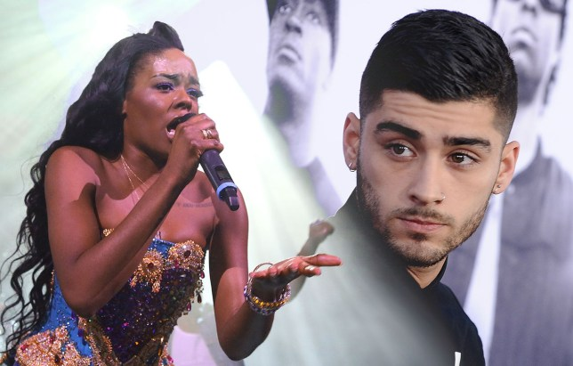 zayn vs Azealia banks NEW YORK, NY - MAY 11: Azealia Banks performs at Irving Plaza on May 11, 2015 in New York City. (Photo by Taylor Hill/Getty Images)