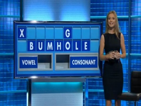Rachel Riley just had to spell out the word BUMHOLE on Countdown