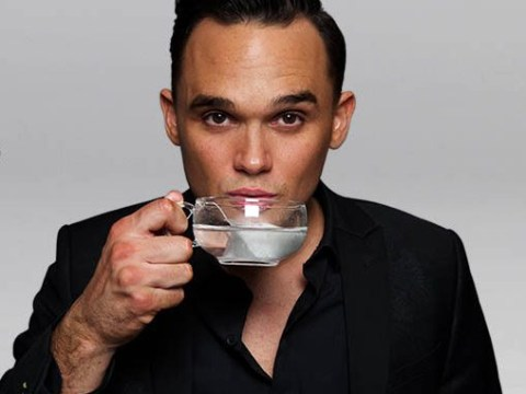 Gareth Gates is making tea now