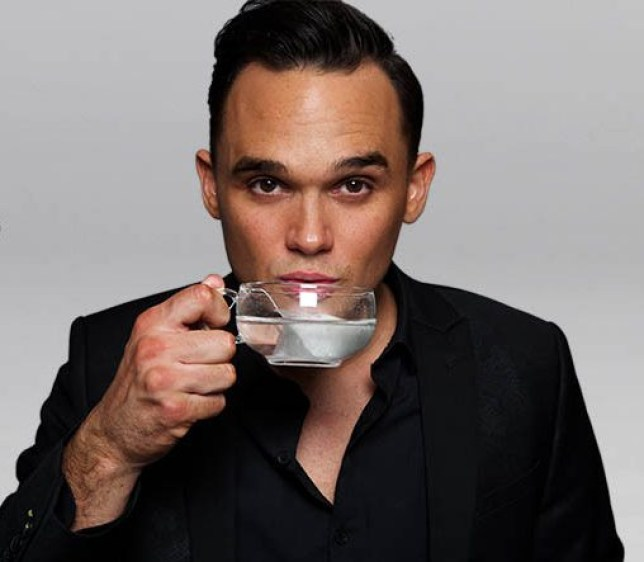 Gareth Gates is making tea now (Picture: Cuppanut)