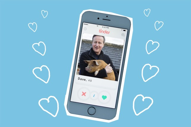 Swipe right: David Cameron is now on Tinder