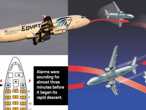 EgyptAir crash: 'Fire started in toilet' of doomed flight MS804
