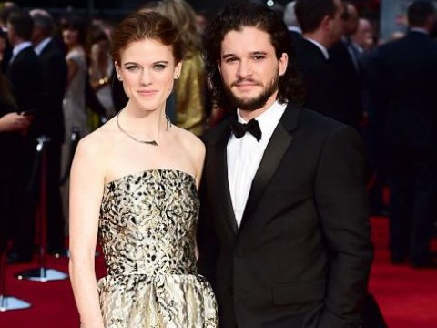 Rose Leslie says boyfriend Kit Harington 'hung her out to dry' over that Jon Snow twist