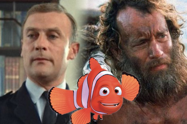 can i get a comp of Tom Hanks in Castaway, Woodward from the wickerman and marlin from finding nemo please