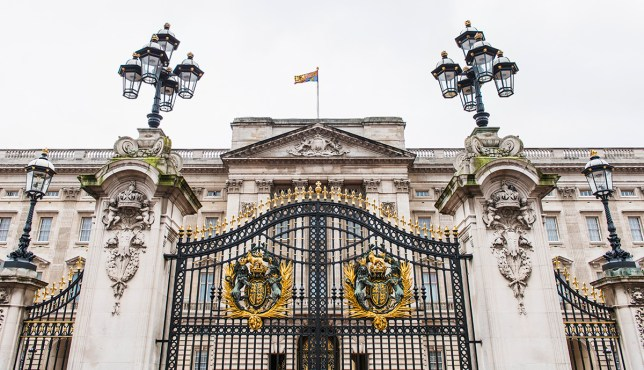 The gate at Buckingham Palace (picture: Getty)