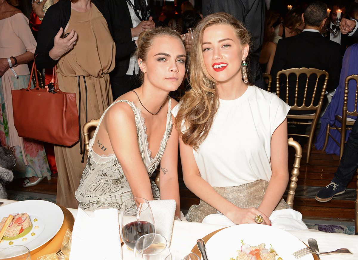Was Johnny Depp worried Amber Heard had cheated on him with Cara Delevingne?