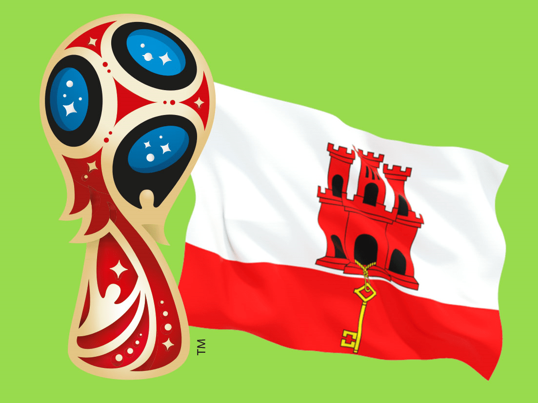 Gibraltar can actually play at the next World Cup as Fifa are forced to accept them as a new member