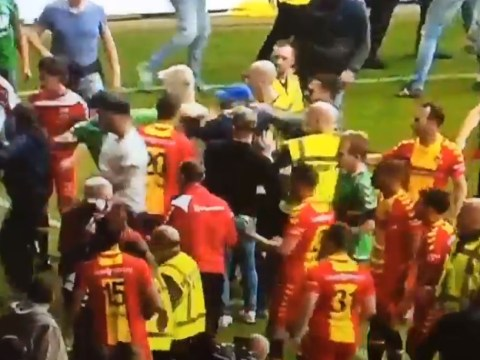 Go Ahead Eagles players allegedly attacked by De Graafschap fans after winning promotion to the Eredivisie